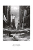 Swell Time in Town Poster von Thomas Barbey