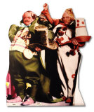Muchkins - Wizard of Oz Movie Cardboard Cutouts