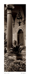 Portico, Umbria Prints by Alan Blaustein