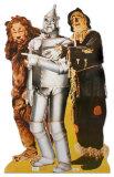 Le Lion poltron, le Bucheron en fer-blanc et l'Epouvantail Silhouette en carton