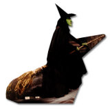 Wicked Witch Silhouette découpée