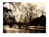 Clare Bridge, Cambridge Poster by Derek Langley