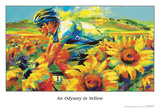 An Odyssey in Yellow Posters by Malcolm Farley