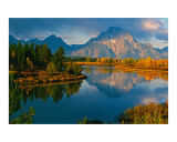 Oxbow Bend, Grand Teton National Park, Wyoming Photographie par Roy Breslawski