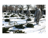 Korean War Veterans Memorial Photographic Print by William Luo