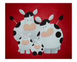 Family Portrait Giclee Print by  Astrid