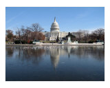 Capitol Building Photographic Print by William Luo