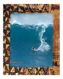 Dave Stein surfing Jaws, Maui Photographic Print by  Himani