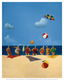 My Seven Aunts Prints by Michael Paraskevas