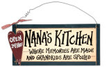 Nana&#39;s Kitchen Wood Sign