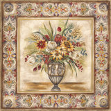 Floral Tapestry I Print by Ruth Franks