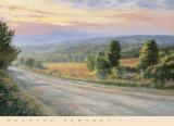 Misty Dawn Print by Douglas Edwards