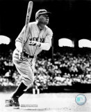 Babe Ruth - Batting Action Photo