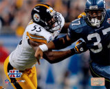Super Bowl XL - Joey Porter Photo