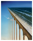 On the Edge Posters by Samy Charnine