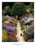 El gato del jardín Lámina por Greg Gawlowski