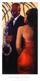 Sax Seduction Art by Monica Stewart