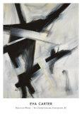 Noir et blanc Art par Eva Carter