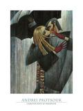 L'Amour sous le Parapluie Prints by Andrei Protsouk
