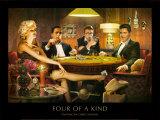 Póquer Lámina por Chris Consani