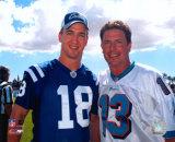 Peyton Manning And Dan Marino Photo