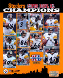 Super Bowl XL - 2005 Steelers Championship Team Composite Photo