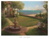 Seaside Garden-Mini Lámina por Haibin