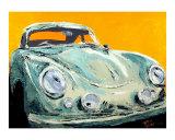 Porsche 356 Giclee Print by Ben Walker