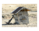 Leaning Outhouse of Colorado Photographic Print by Stephen Gilmartin