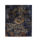 Homage a Pierre Reverdy Serigraph by Georges Braque