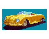 Porsche Speedster Giclee Print by Ben Walker