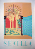 Sevilla Serigraph by Perry King