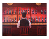 Bottle for One Giclee Print by Todd Horne
