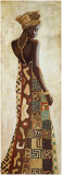 Femme Africaine III Poster by Jacques Leconte