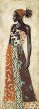 Femme Africaine IV Poster par Jacques Leconte