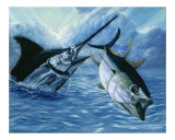 Marlin Chase Giclee Print by Tanya Ray
