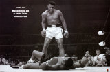 Muhammad Ali vs. Sonny Liston Print