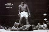 Muhammad Ali vs. Sonny Liston Print