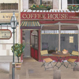 Coffee House Corner Prints by Katherine &amp; Elizabeth Pope