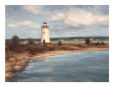Edgartown Lighthouse Plakater af Todd Williams