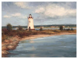 Edgartown Lighthouse Affiches par Todd Williams