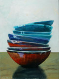Balance of the Bowls III Art by Claire Pavlik Purgus
