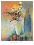Fantaisie florale I Affiches par Sandy Clark