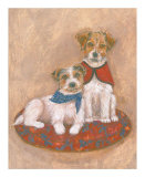 Jack Russell Poster by Carol Ican