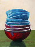 Balance of the Bowls V Print by Claire Pavlik Purgus