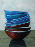 Balance of the Bowls VI Prints by Claire Pavlik Purgus