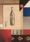 Wine Study II Print by William Verner
