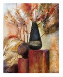 Enchanted Onyx I Prints by Sandy Clark