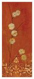 Sienna Flowers I Prints by Fernando Leal