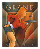 The Grand Club Print by Michael L. Kungl